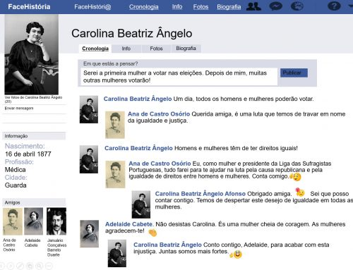 Facebook de Carolina Beatriz Ângelo – Vídeo