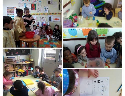 Pré escolar celebra o Dia Mundial da Ciência