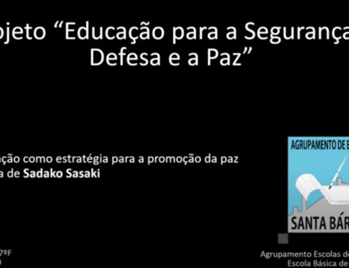 """Projeto""""Segurança, Defesa e Paz: A prevenção como estratégia para a promoção da paz – Ahistória de Sadako Sasaki"""""""