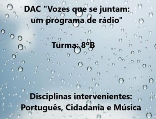 """Criação e gravação de um programa de rádio: """"A Água"""""""