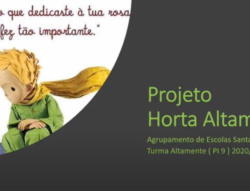 """Projeto """"Horta Altamente"""""""